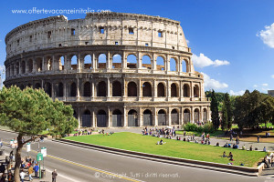 vacanze a roma, colosseo,