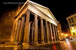 vacanze a roma, pantheon,