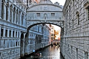 Venezia, ponte dei sospiri.