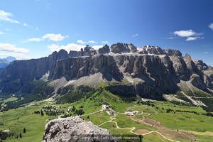 La montagna italiana, il Gruppo Sella.