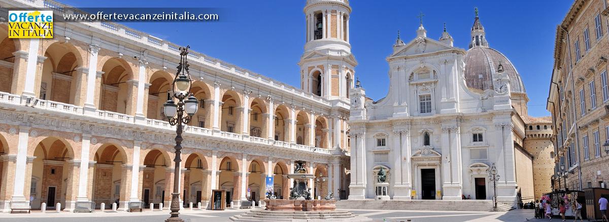 offerte vacanze marche, madonna, loreto, santuario,