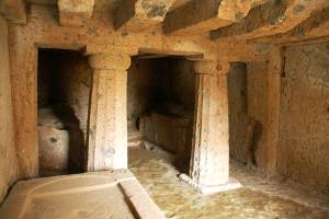 blera, tuscia romana, tombe rupestri,