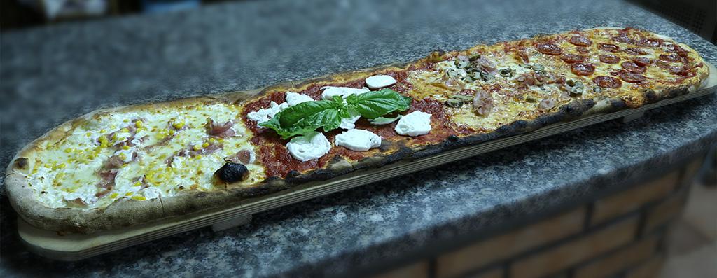 pizza al metro, tropea,