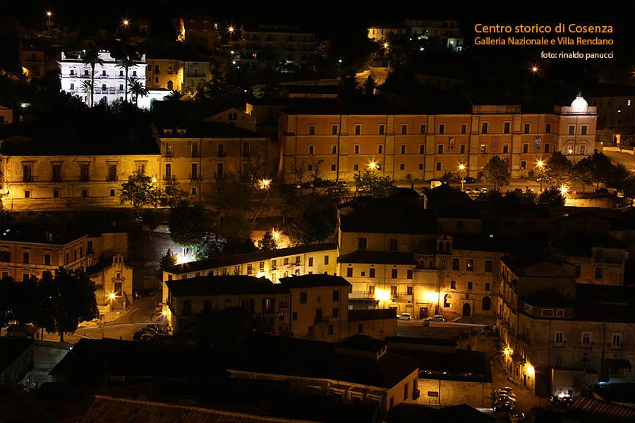 Cosenza Città d'Arte, colle Triglio, Galleria nazionale e Villa Rendano.