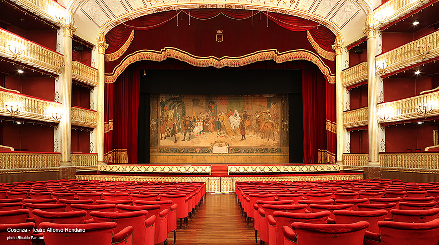 Cosenza Città d'Arte, Teatro Alfonso Rendano.