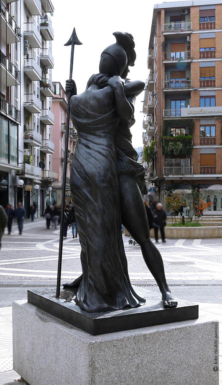 MAB Cosenza - Ettore e Andromaca. Di Giorgio De Chirico.