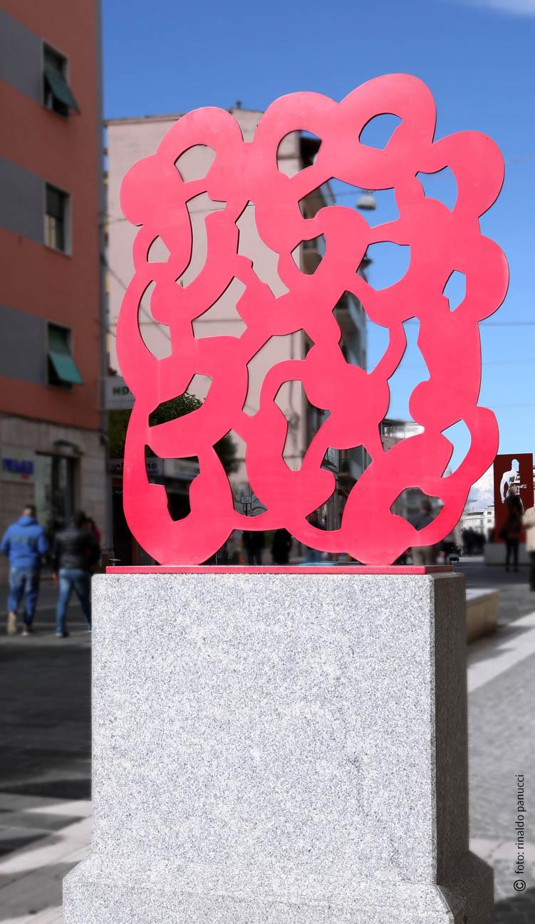 MAB Cosenza - Ferro rosso. Di Pietro Consagra.