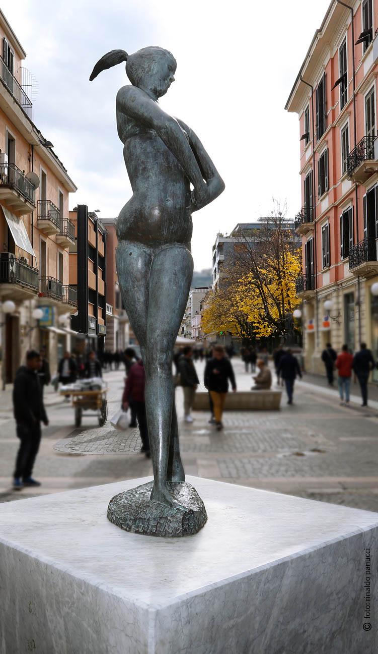 MAB Cosenza - La Grande Bagnante. Di Emilio Greco.