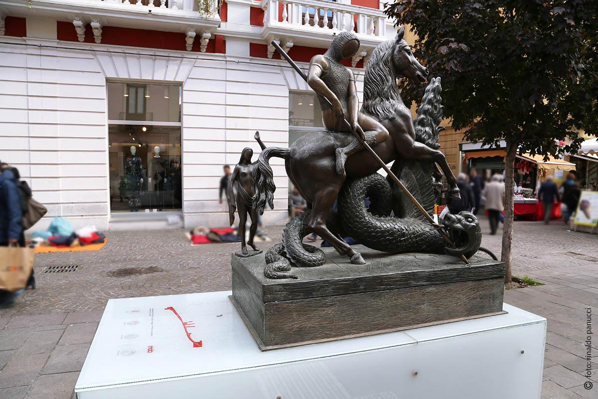 MAB Cosenza - San Giorgio e il Drago. Di Salvador Dalì.