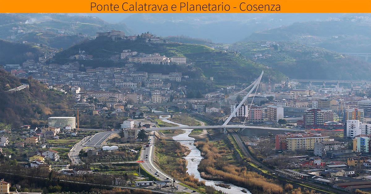Città italiane da visitare in due giorni. Cosenza: Ponte Calatrava e Planetario.