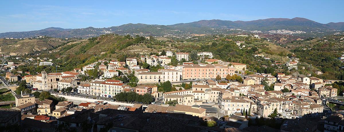 Cosenza, città dai sette colli. Colle Triglio.