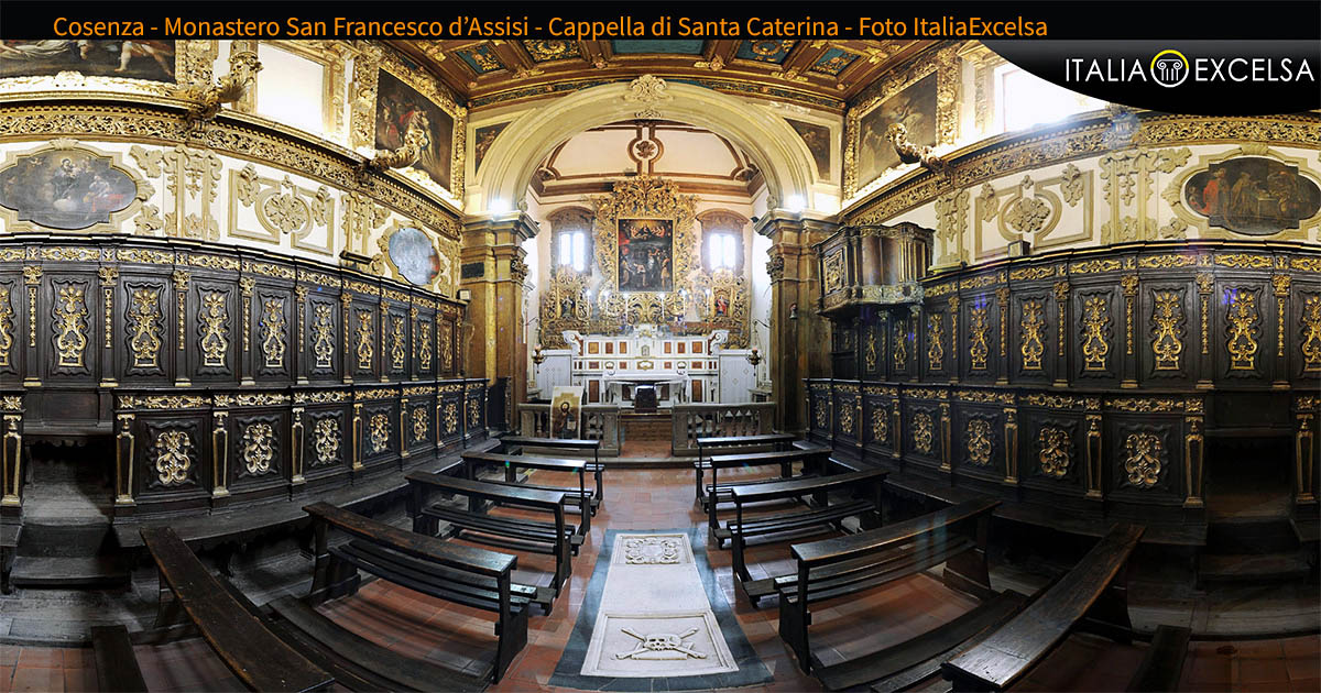 Cosenza. Monastero San Francesco di Assisi, Cappella Santa Caterina.