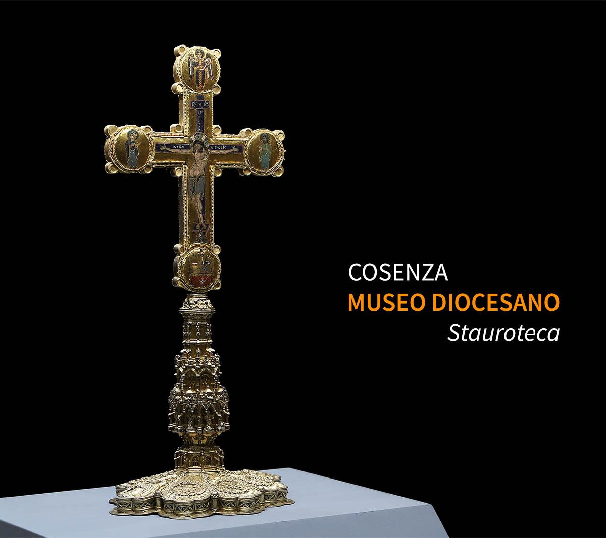 Città italiane da visitare in due giorni. Cosenza, Museo Diocesano, la Stauroteca.