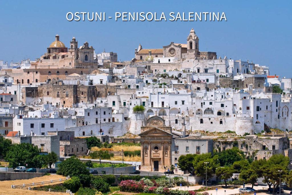 Lecce e il Salento. Panorama di Ostuni.