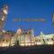 Lecce e il Salento. Piazza Duomo con le luci del tramonto.