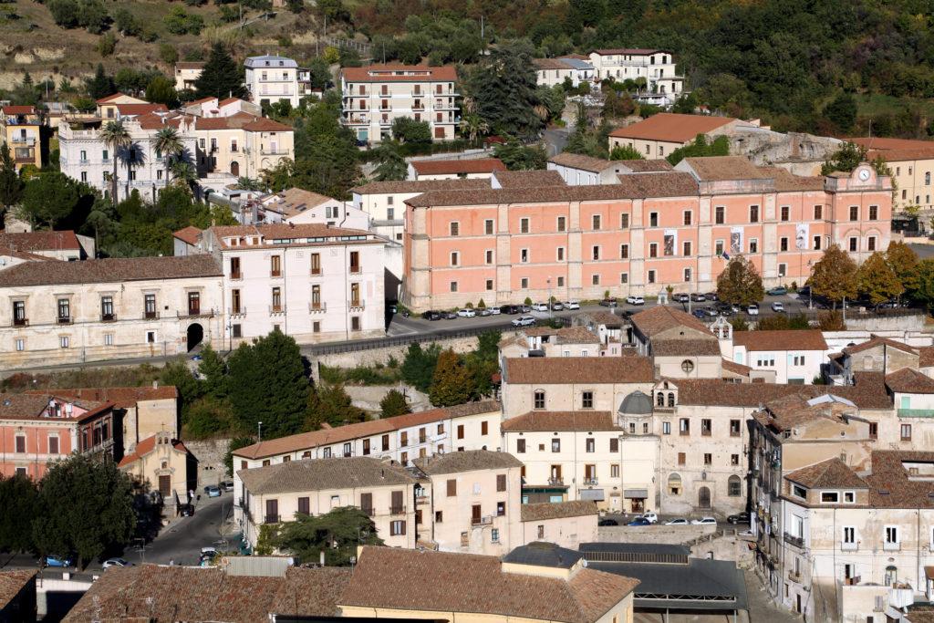 Centro storico sul colle Triglio.