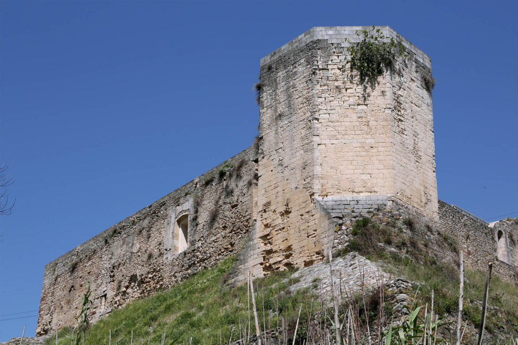 Castello Svevo di Cosenza, la torre ottagonale.