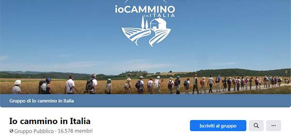 Io Cammino in Italia - Gruppo Facebook