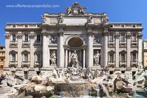vacanze a roma, fontana di trevi,