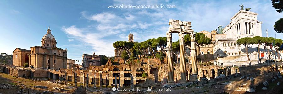 Vacanze a Roma, il Foro Romano.