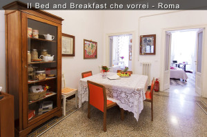 il bed and breakfast che vorrei, sala,
