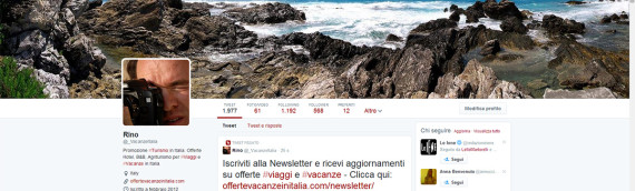 Offerte Vacanze Italia Twitter