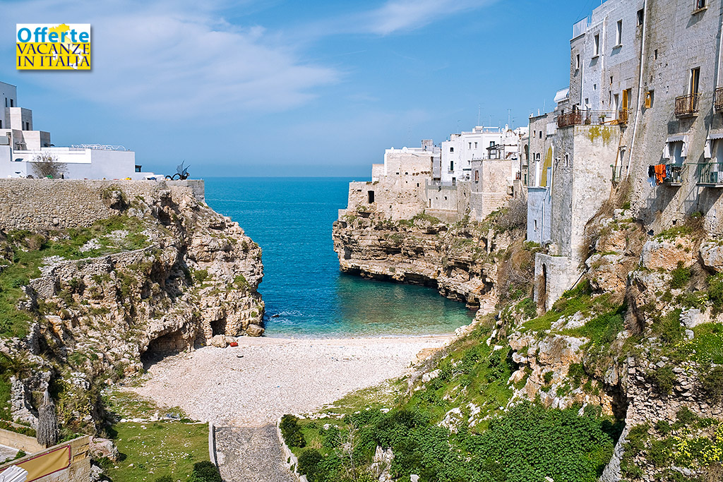 Vacanze in Puglia, Polignano a Mare.