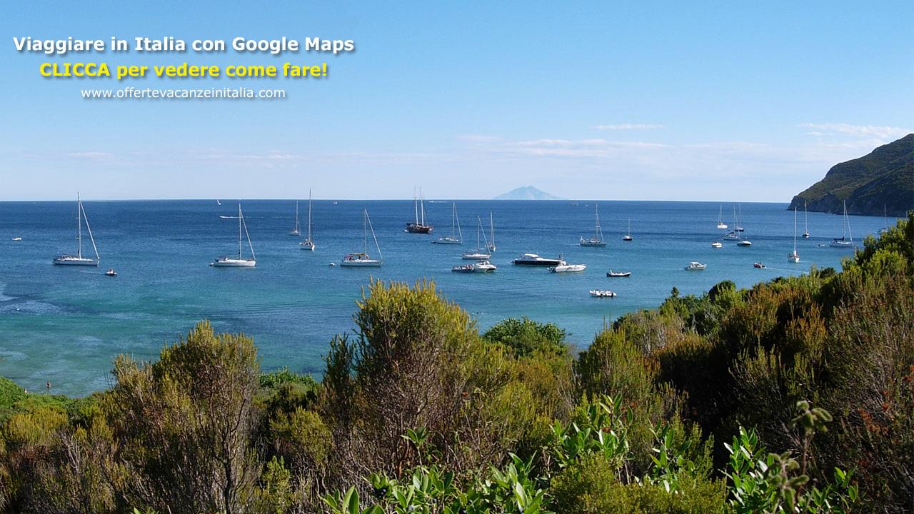 viaggiare in italia, google maps,