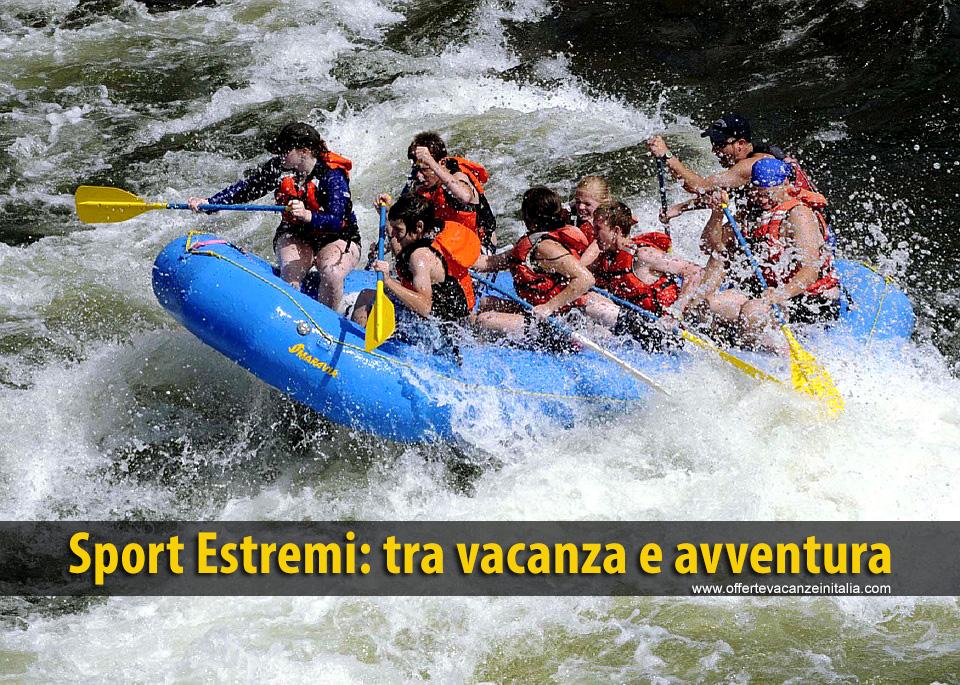 sport estremi, vacanza, avventura,
