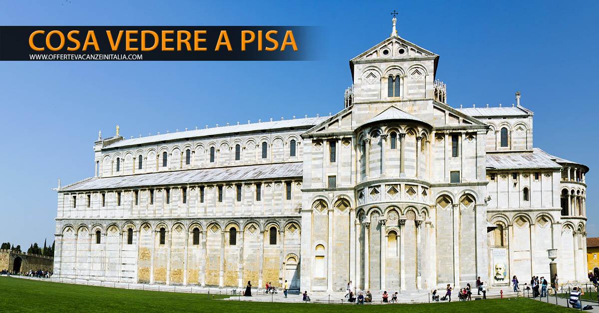 Cosa vedere a Pisa. Duomo.