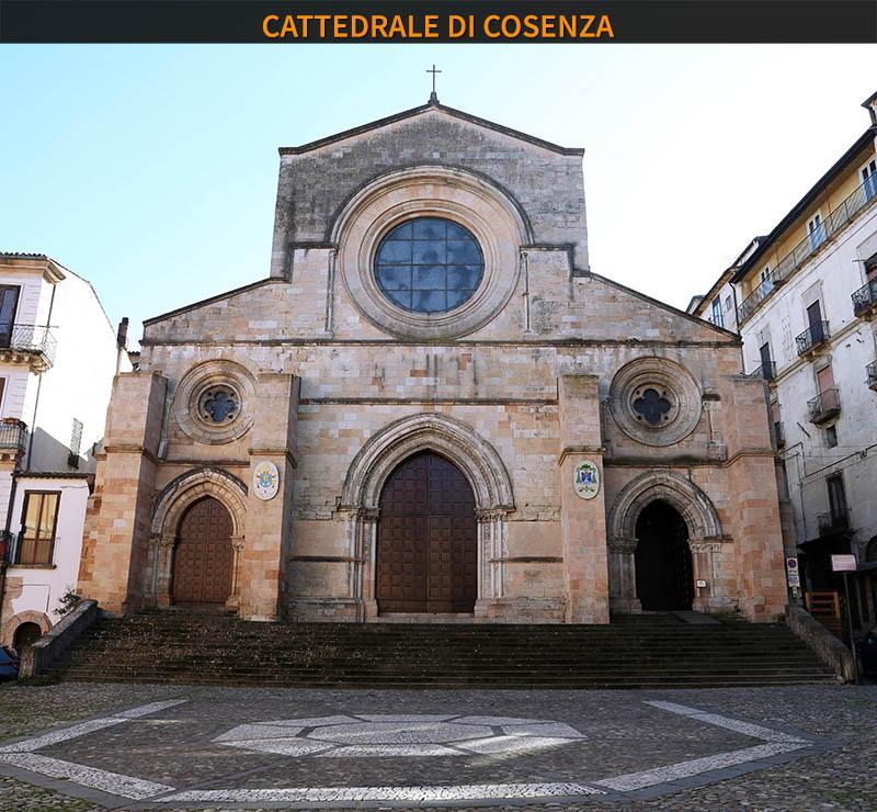Città italiane da visitare in due giorni. Cattedrale di Cosenza.
