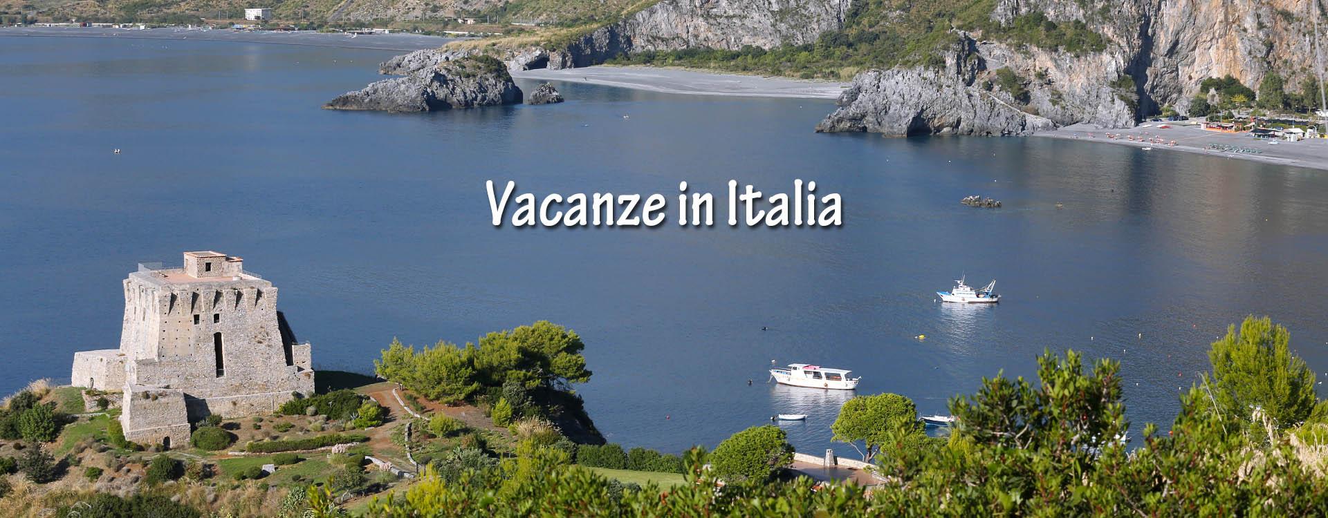 Offerte Vacanze in Italia - Calabria, San Nicola Arcella, torre del Saracino sul mar Tirreno
