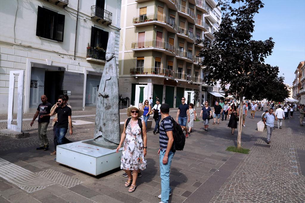 Cosenza, Corso Mazzini, MAB, Museo all'Aperto Bilotti.