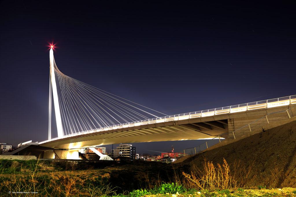 Ponte San Francesco di Paola, a Cosenza, realizzato dall'architetto Calatrava.