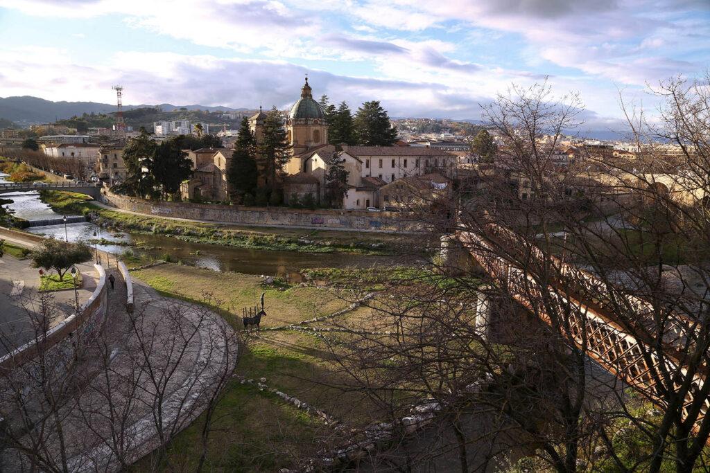 Alarico. Confluenza dei fiumi a Cosenza.