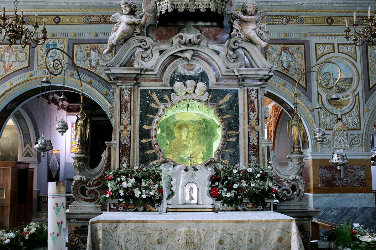 Cattedrale di Rossano, icona Madonna Achiropita.