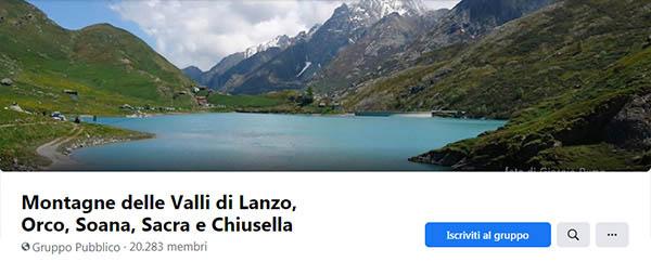 Montagne delle Valli di Lanzo, Orco, Soana, Sacra e Chiusella.