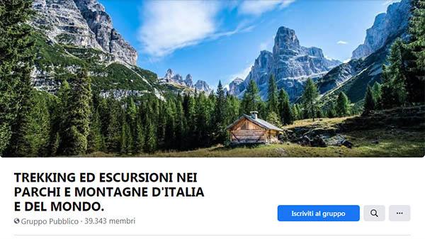 TREKKING ED ESCURSIONI NEI PARCHI E MONTAGNE D'ITALIA