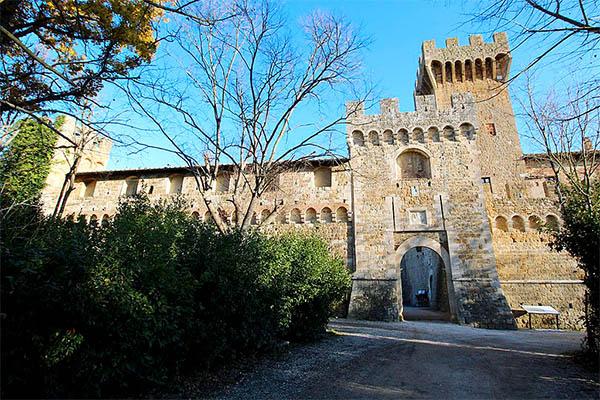 Castello di Spedaletto - Pienza